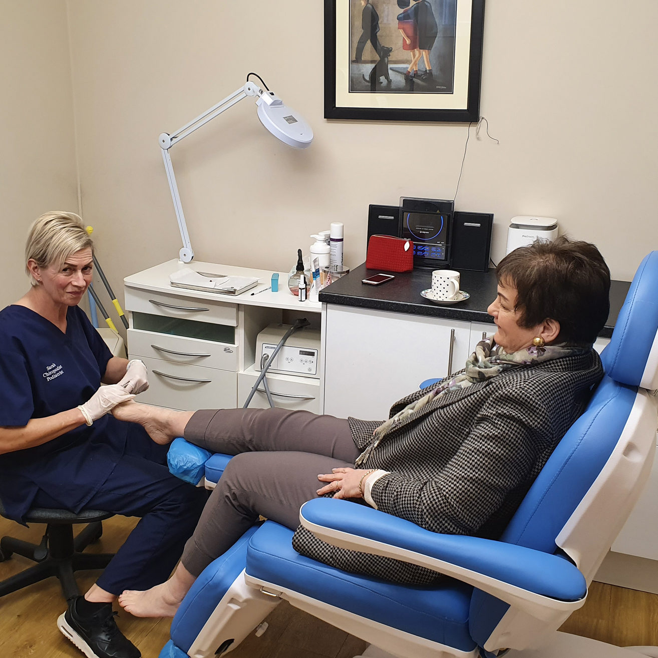 crossgates-chiropody-treatment-room